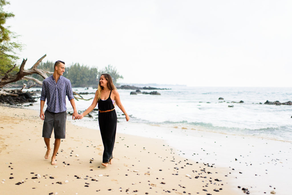 Hawaii Engagement Session at Beach 69