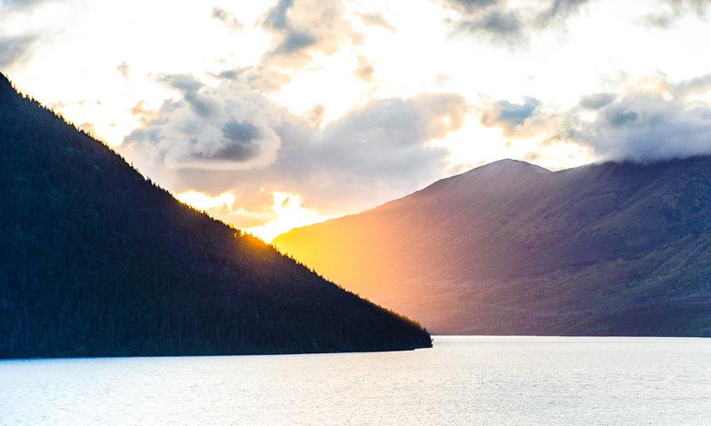kenai lake in Seward alaska