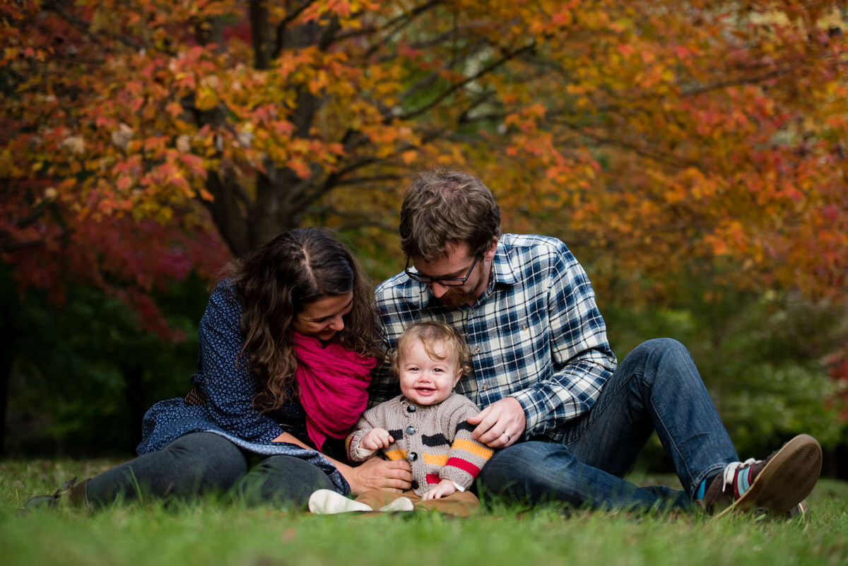 Leo family session