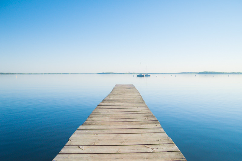 dock at the memorial union in madison Wisconsin on lake Mendota