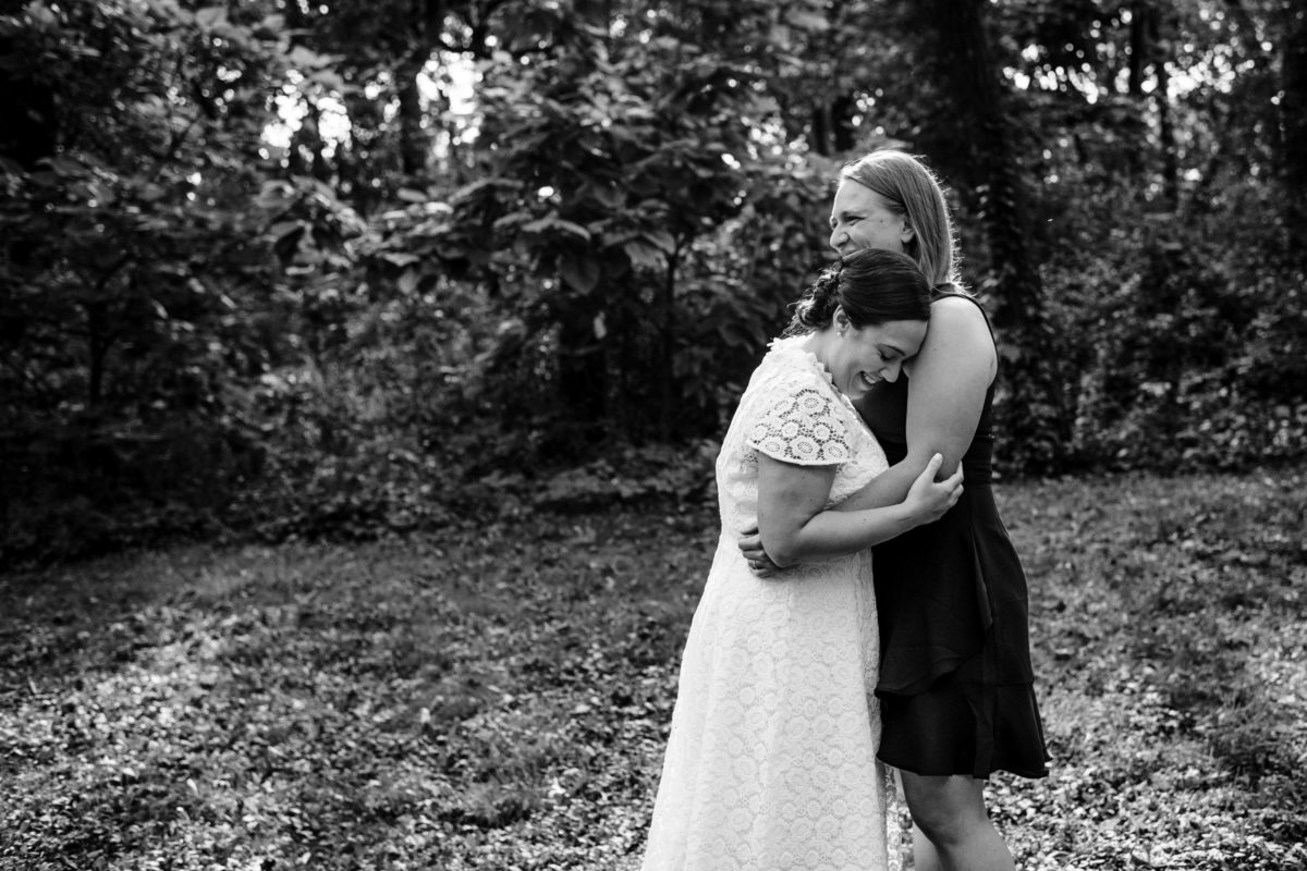 emily and Robyn wedding at Hoyt park